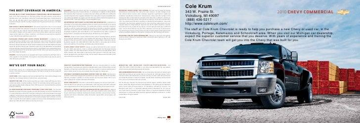 2010 Chevrolet Express Cole Krum Kalamazoo MI