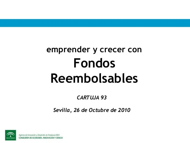 2010 fondos reembolsables cartuja 93