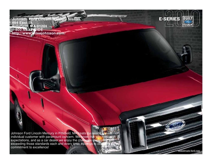 2010 Ford E-Series Pittsfield