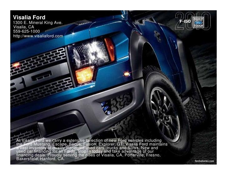 2010 Ford F 150 Fresno CA
