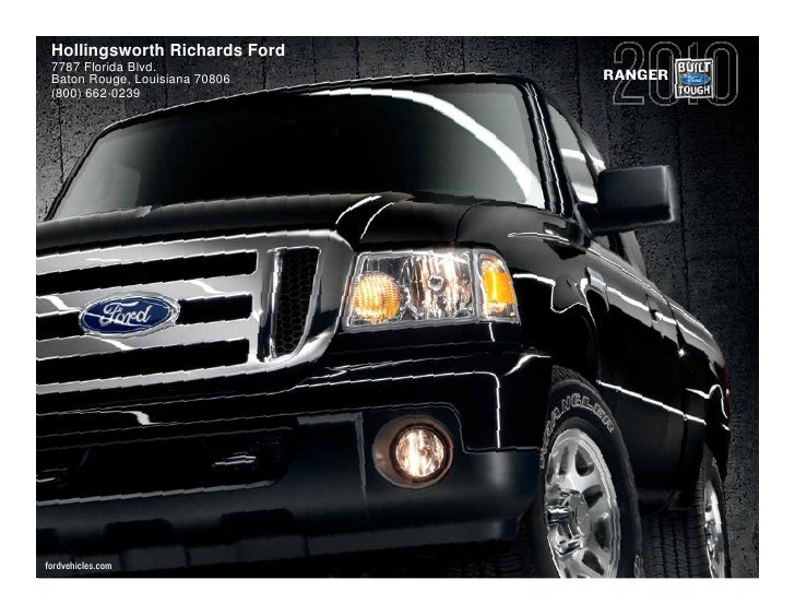 2010 Ford Ranger Baton Rouge