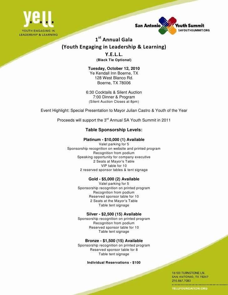 2010 gala invite