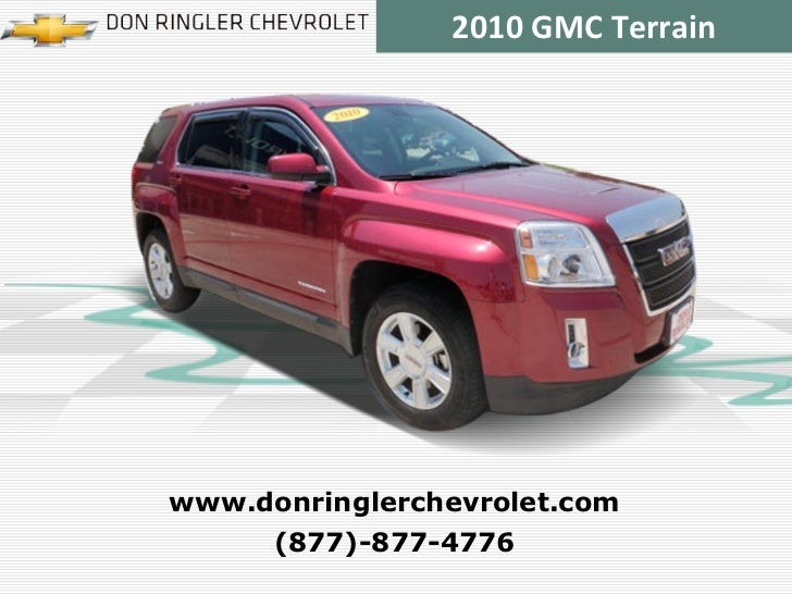 Certified 2010 GMC Terrain SLE-1 at Temple, Austin, Waco, Killeen TX