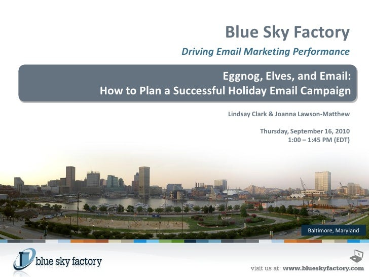 How to Plan a Successful Holiday Email Campaign