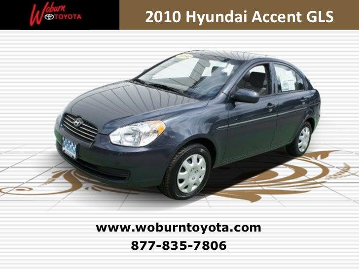 Used 2010 Hyundai Accent GLS - Boston