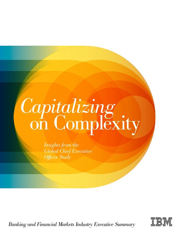 2010 IBM Global CEO Study Capitalizing on Complexity