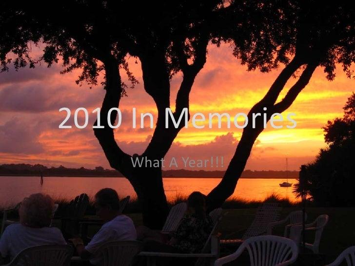 2010 in memories