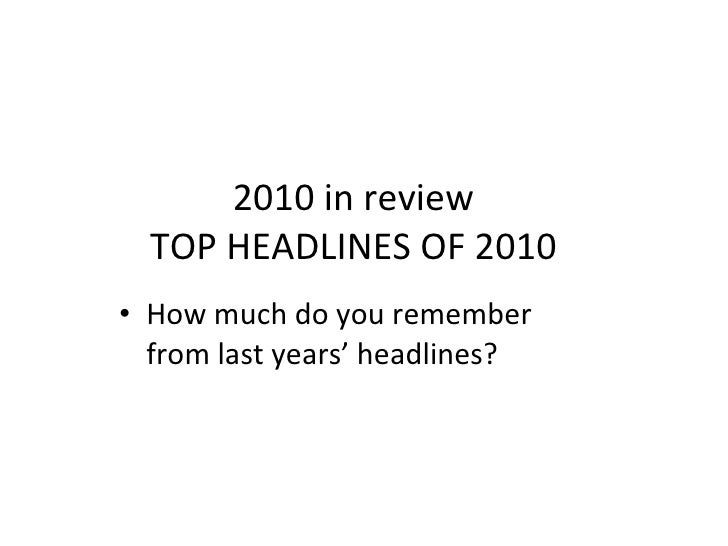 2010 in review2