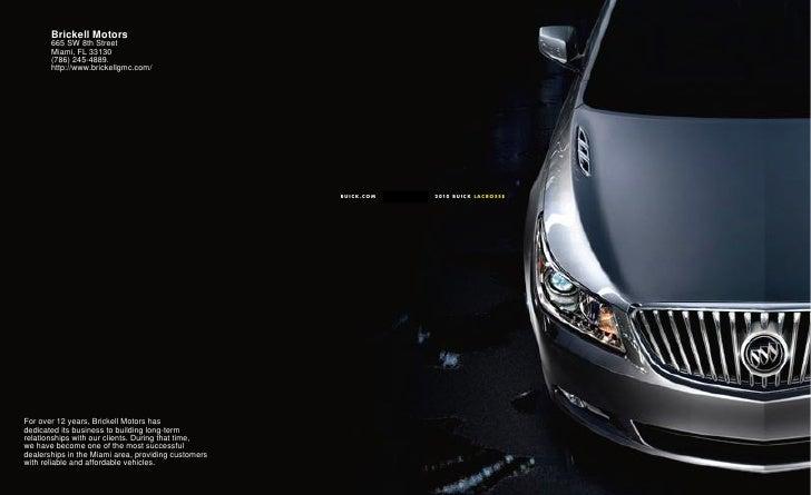2010 Buick La Crosse Miami