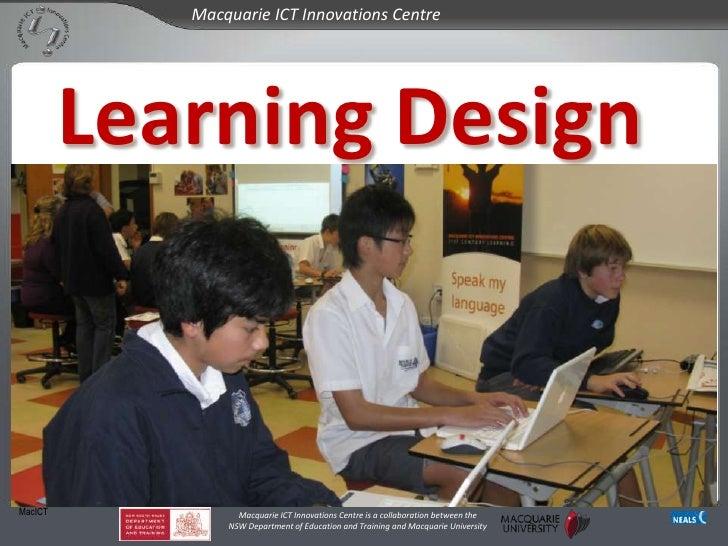 Learning Design<br />MacICT<br />