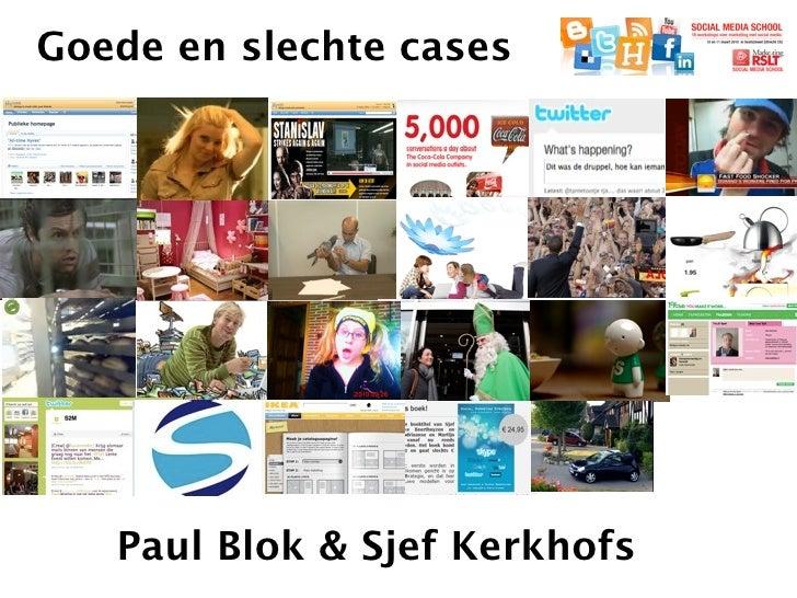 Lezing goede en slechte cases met Paul Blok