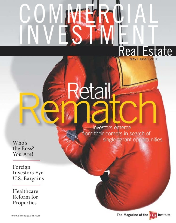 COMMERCIAL     INVESTMENT                                                May   June   2010                            Reta...