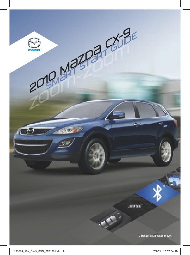 2010 Mazda Cx 9 Qt