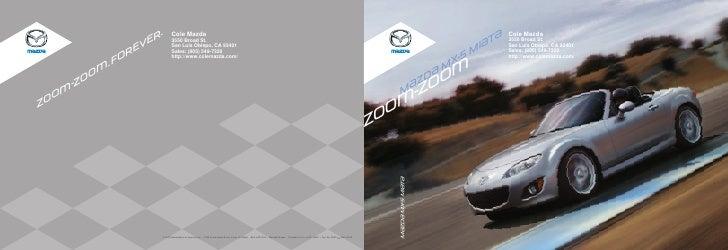 R.       Cole Mazda                                                                                                       ...
