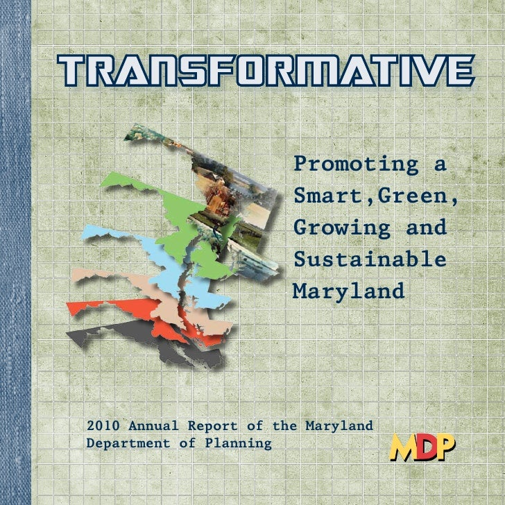 Maryland Planning Annual Report