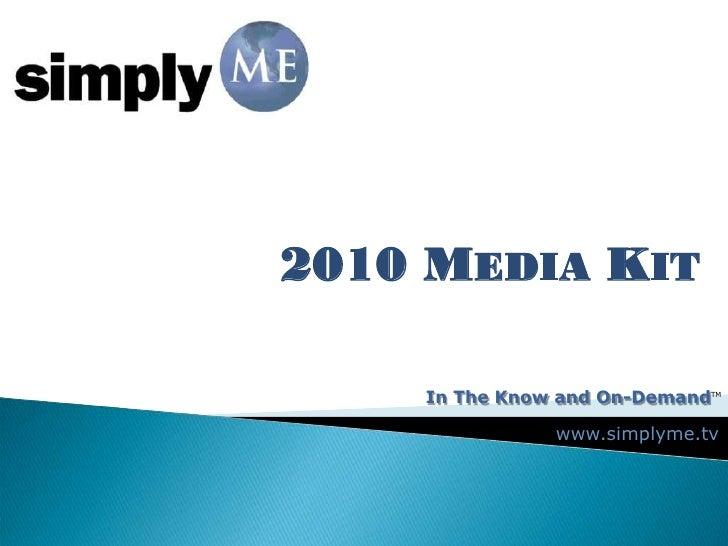 2010 Mediakit