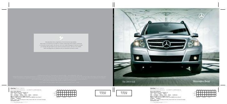 Mercedes-Benzhasalonghistoryofenvironmentalresponsibility.                                                       ...