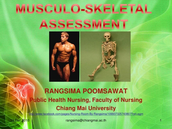 2010 musculo skeleton assessment