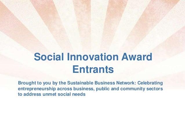 2010 SBN (social innovation)