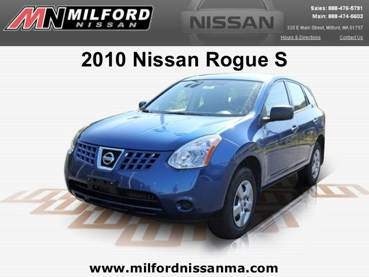 Used 2010 Nissan Rogue S – Milford Nissan Worcester, MA