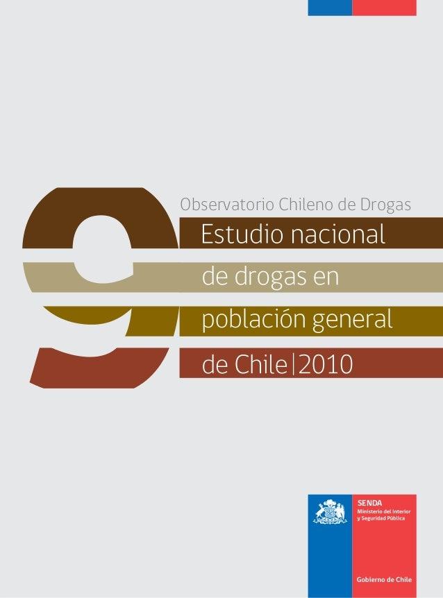 Observatorio Chileno de Drogas                       SENDA