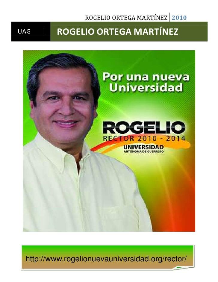 Rogelio Ortega Martínez