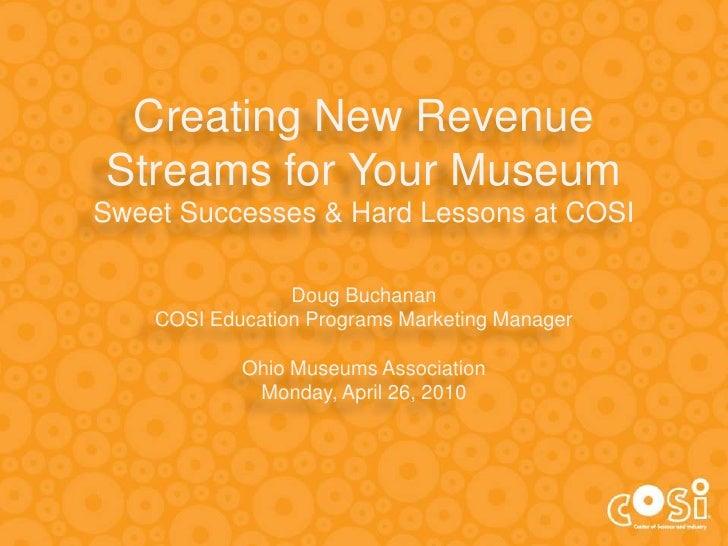 2010 OMA New Revenue Streams Presentation