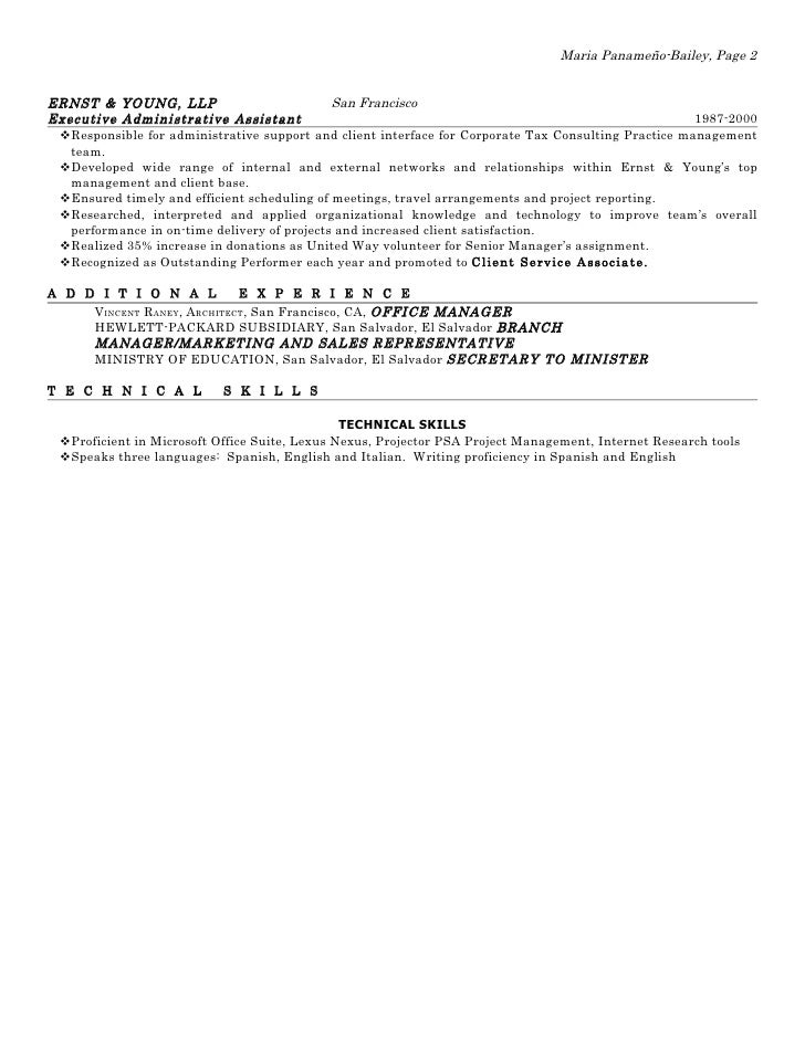 2010 panameno bailey resume