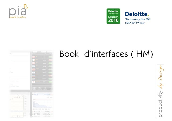 Book d'interfaces (IHM)