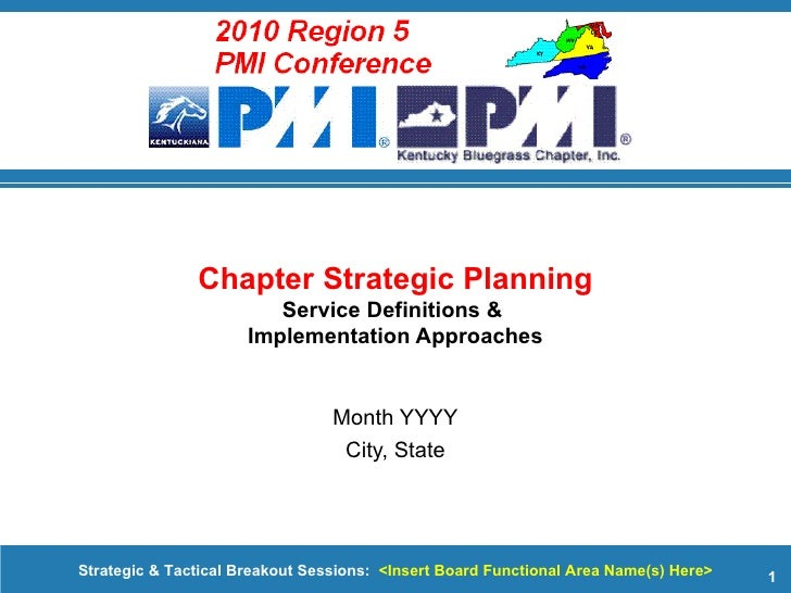Month YYYY City, State Chapter Strategic Planning Service Definitions &  Implementation Approaches