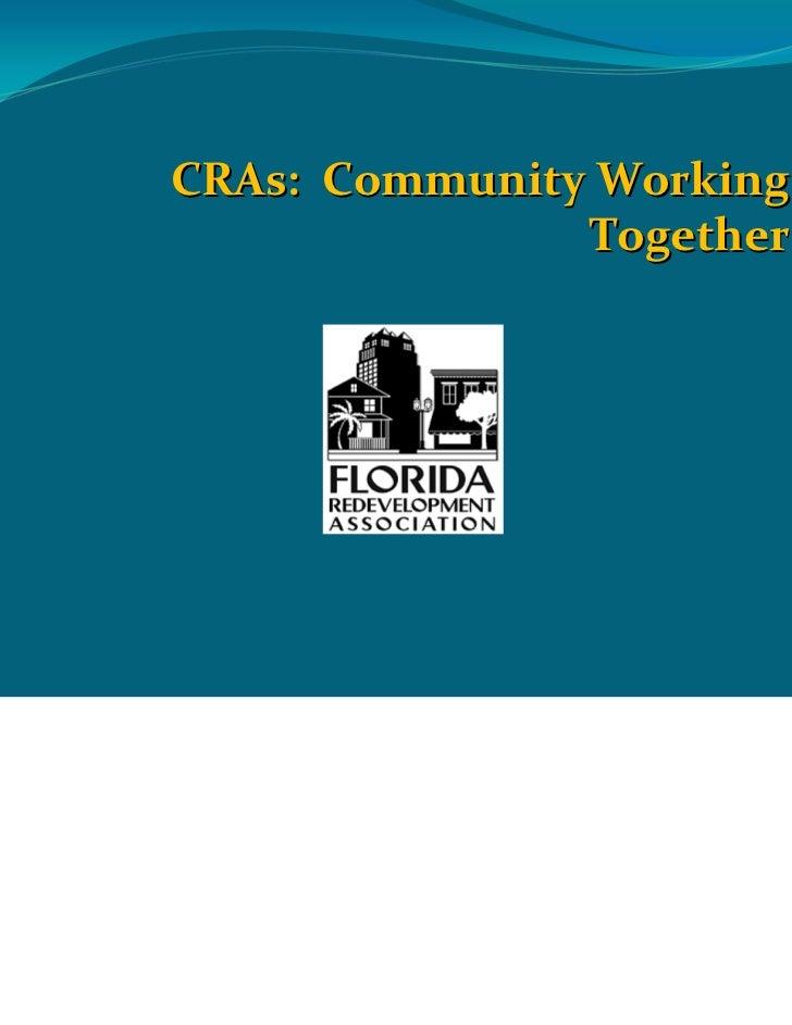 CRAs:CommunityWorking                Together