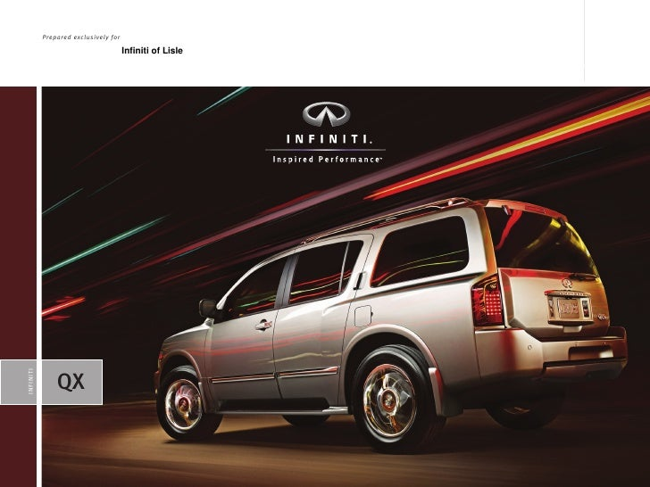 2010 Infiniti of Lisle QX56 Brochure