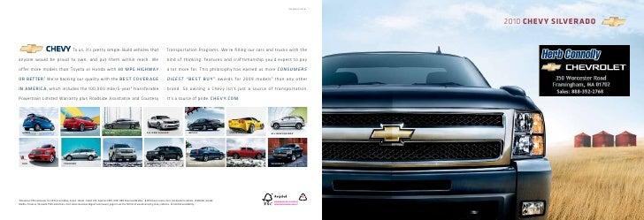 2010 Chevrolet Silverado - Herb Connolly Boston, MA