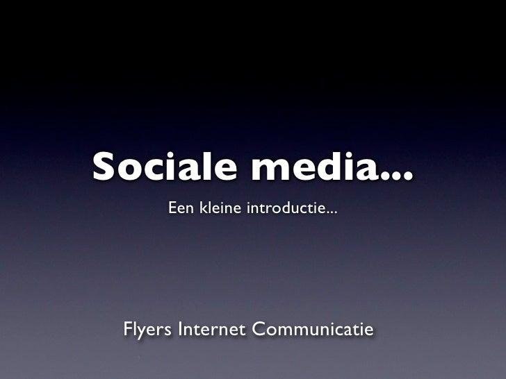 2010 Sociale Media