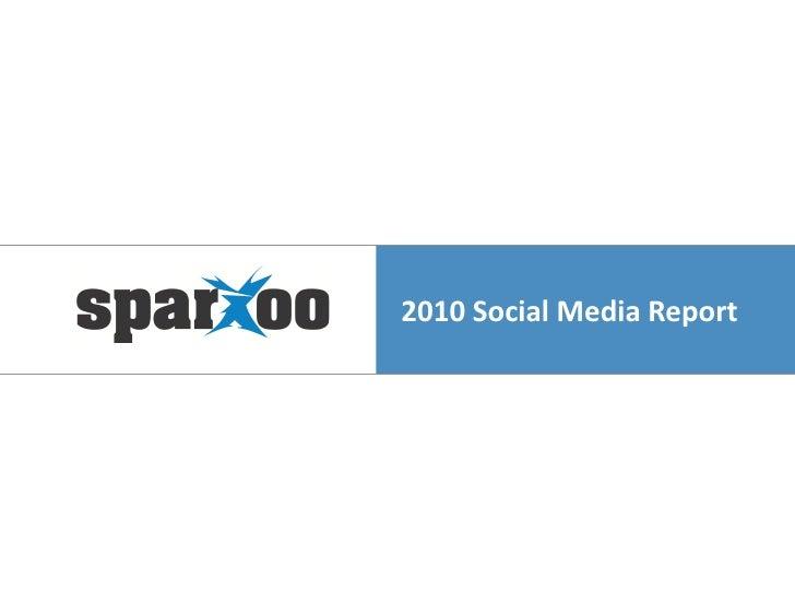 2010 Social Media Trend Report