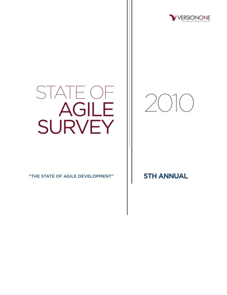 2010 state of agile development survey results