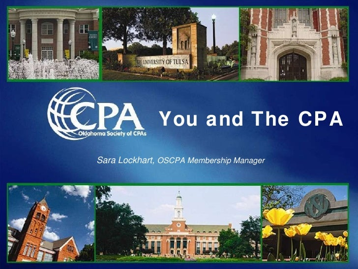 You and The CPA