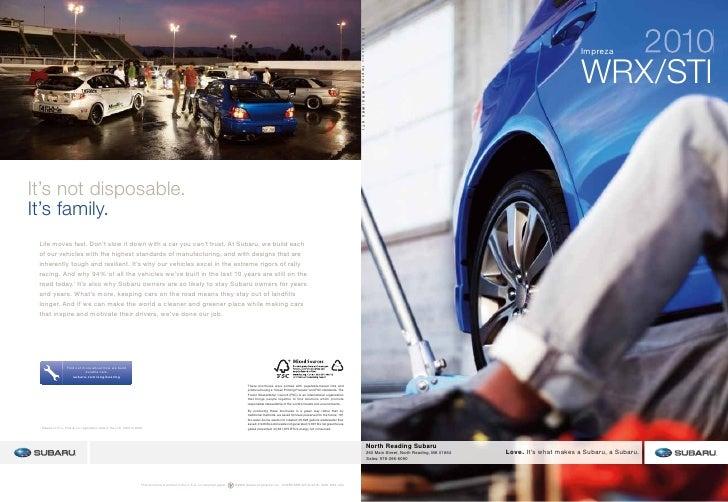 2010 Subaru Impreza Wrx Boston