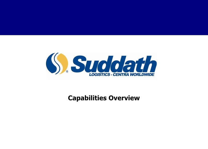 Capabilities Overview