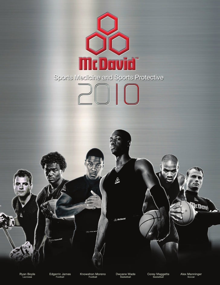 2010 McDavid Product Catalog