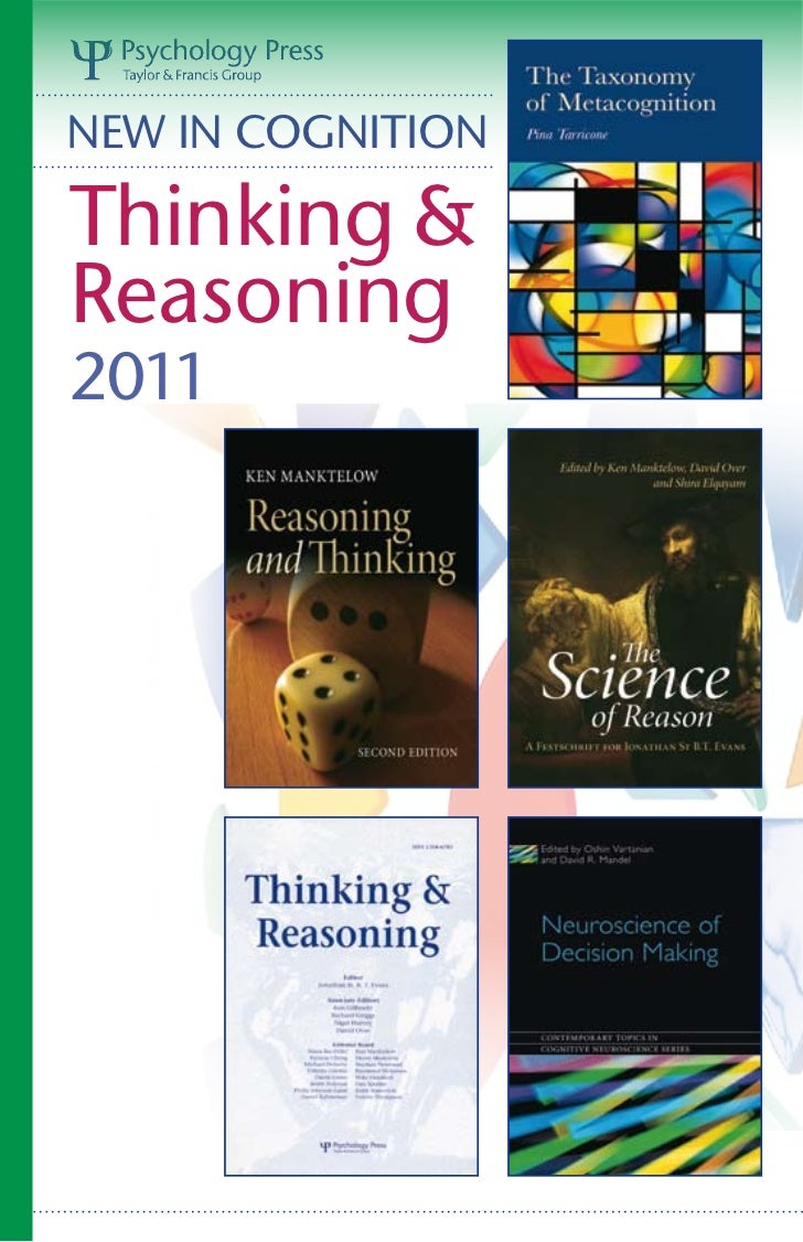 NEW IN COGNITIONThinking &Reasoning2011