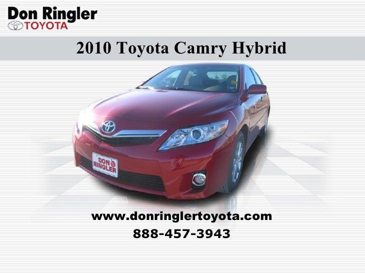 texas toyota camry hybrid don ringler toyota dealer tx. Black Bedroom Furniture Sets. Home Design Ideas