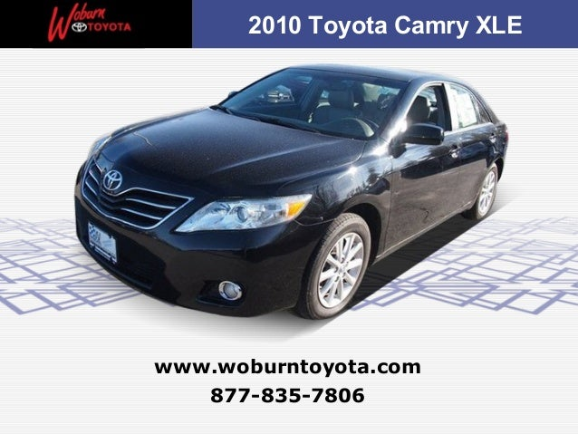 Boston - Used 2010 Toyota Camry XLE