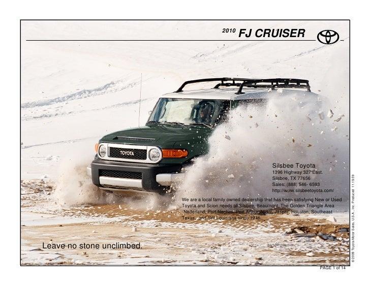 2010                                                       FJ CRUISER                                                     ...