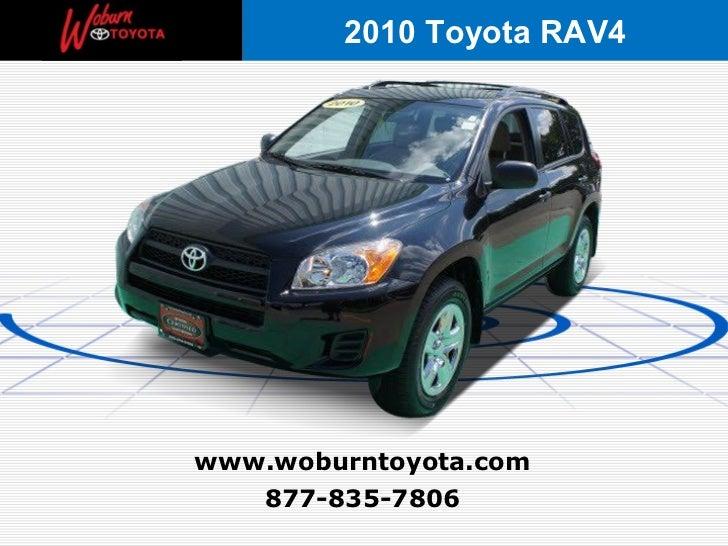 Boston - Used 2010 Toyota RAV4