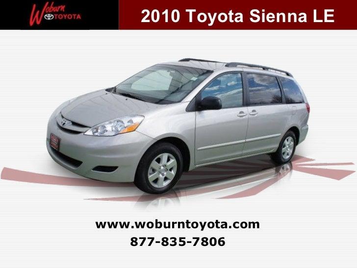 Boston - Used 2010 Toyota Sienna LE