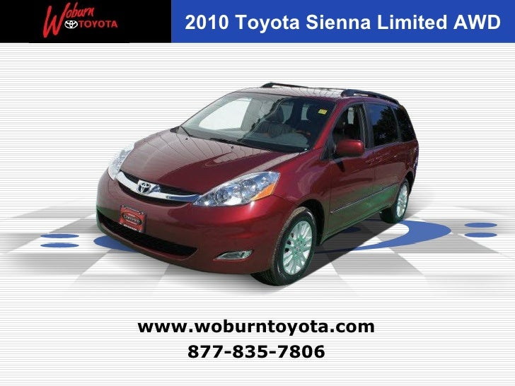 Used 2010 Toyota Sienna Limited AWD  -  Boston