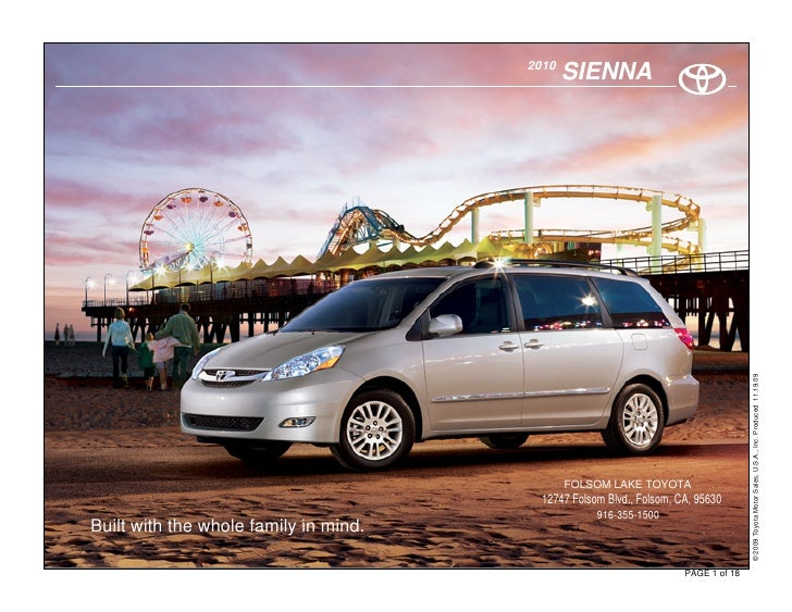2010 Toyota Sienna Sacramento