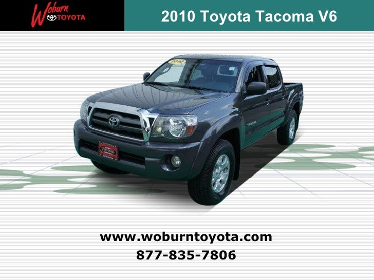 Used 2010 Toyota Tacoma V6 - Boston