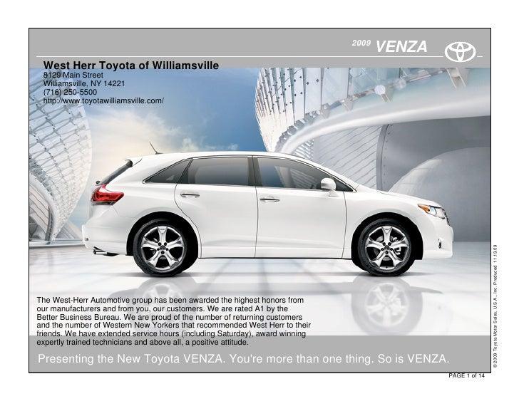2010 Toyota Venza Buffalo